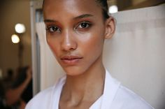 Valentino Couture Fall 2012 | dewy, fresh, natural.