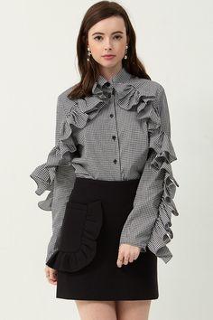 Alia Neoprene Skirt Discover the latest fashion trends online at storets.com