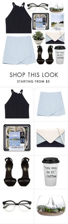 """""""Untitled #111"""" by maayan-styles ❤ liked on Polyvore featuring A.L.C., Jendi and Yves Saint Laurent"""