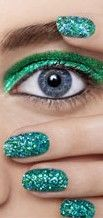 Add a little sparkle here!  Grab everyone's attention with these sparkly nails, and get your RebateGiant.com rebate from Sephora to copy this amazing look!