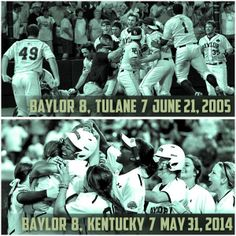 DID YOU KNOW? #Baylor baseball & softball each have the largest comebacks in College World Series history. #SicEm #CWS #WCWS