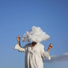 possible caption: head in the clouds, stories on the page Sky Aesthetic, Aesthetic Photo, Aesthetic Pictures, Aesthetic Themes, Creative Photography, Portrait Photography, Dreamy Photography, Minimal Photography, Reflection Photography