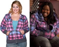 Torrid Pink Purple and Blue Ombre Buffalo Check Hoodie - No longer available Worn with: Torrid jeans,Tokidoki bag,Nike sneakers Also worn in: 1x10 'Ballad'