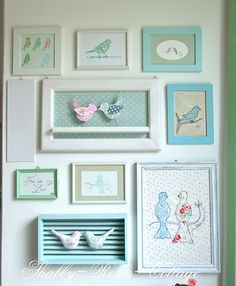 Bird collection by *ShabbyRosesCottage*, via Flickr
