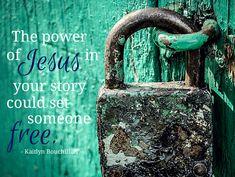 The power of Jesus i