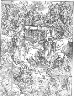 the seven trumpets, Albrecht Durer
