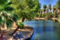 Encanto Park, Phoenix, Arizona.