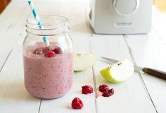 Raspberry and Apple Yoghurt Smoothie