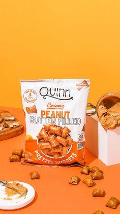 Gluten Free Pretzels, Gluten Free Peanut Butter, Peanut Butter Filling, Creamy Peanut Butter, Microwave Popcorn, Snack Recipes, Snacks, Gluten Intolerance, Chips