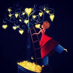 Καληνύχτα...!!!  Ας κρεμάσω κι εγώ ένα αστέρι... Ψηλά στο δέντρο, του ουρανού... Να με φωτίζει, αυτή τη νύχτα... Μέχρι να ρθει, το ξημέρωμα από των... ματιών σου, το χρώμα...  © Mona Perises / 2014  #MonaPerises #happines #dreams #hope #love #life #soul #night #spirit #believe #selfpower #soulpower #stars #sky #heart #human