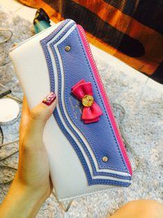 Sailor Moon Samatha Vega Free Shipping Wallet Purse Hand Bag by NavidsonVintage on Etsy
