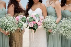Mint and Gold Cabo San Lucas Beach Wedding - Fab You Bliss