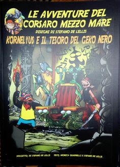 Cover Kornelyus e il tesoro del Geko Nero