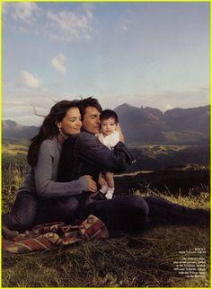 Tom Cruise & Katie Holmes 2006 Telluride family photos VANITY FAIR PICTURES