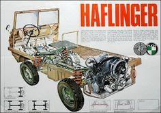 Steyr Puch Haflinger — идеальный автомобиль для Росии за МКАДом ;) — DRIVE2