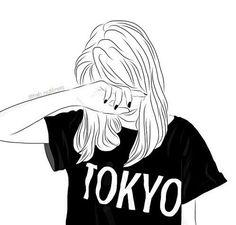 Imagen de girl, tokyo, and drawing
