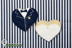 wedding cookies by Monsieur Koko
