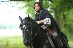 The Musketeers. Series 2/5. Athos returns to his destroyed chateau.