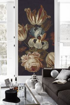 Looking for wallpaper murals for the living room, classic art for your hallways or unique images for your bedroom? Floor Murals, Tile Murals, Wall Art Wallpaper, Bedroom Murals, Dining Room Inspiration, Cool Rooms, Wall Colors, Boho Decor, Colorful Interiors