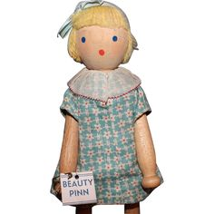 Schoenhut Beauty Pinn Doll