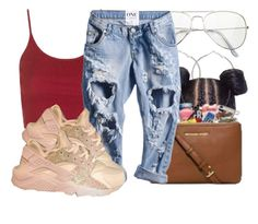 """Shawty"" by jjmelvin ❤ liked on Polyvore featuring Topshop"