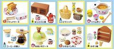 AmiAmi [Character & Hobby Shop]   Rilakkuma - Hokuou Kitchen 8Pack BOX(Back-order)