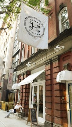 Haven's Kitchen in NYC | a carriage house, coffee shop, boutique, cooking classes, event space all in one