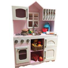 Que criança não amaria ganhar uma cozinha dessas?😍Veja mais produtos da @atelierra clicando:http://bit.ly/2lcsJSq