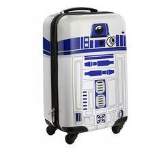 tar Wars R2-D2 Carry-On Luggage: a mala do R2-D2 da Think Geek.