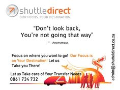 ShuttleDirect Take you forward