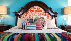 Modern Interior Design Ideas In The Mexican Style Mediterranean Bedroom