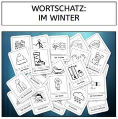 Noch einige Tage und dann fängt der Winter auch meteorologisch gesehen an. Es ist also höchste Zeit für Wortschatzkarten rund um das Thema Winter. Unnötig zu sagen inzwischen: die Karten weiterlesen →