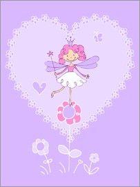 Fluffy Feelings - Purple Flower Fairy