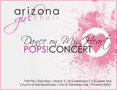 Choral pops concert 2/2/13 - don't miss it!