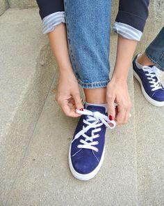 Queens sneakers in blue #maguba