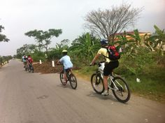 Vietnam cycling tours with your kids