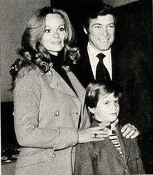 Lynda with her husband, actor Chris George and their son, Nicholas, circa early 1970's. Lynda Day George, The Rat Patrol, Christopher George, Live Action, Friends Family, Cowboys, Shake, Families, Sons