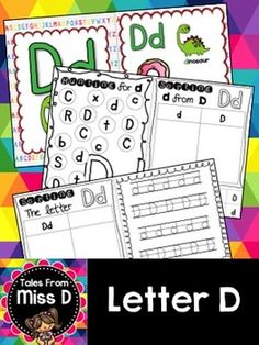 This pack contains no prep/print and go activities for the letter D.  Includes;  1) Posters x 2 2) Letter Hunt 3) Case Sorting 4) Letter Sorting 5) Handwriting 6) Bracelets