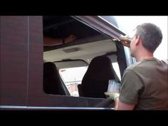 HOW TO CONVERT A CAMPERVAN PART 1 FORD TRANSIT - YouTube