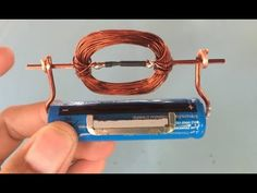 How to make a simple DC motor - YouTube
