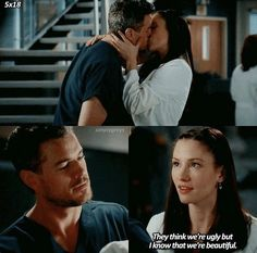 Grey's Anatomy 5x18 Lexie & Mark