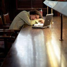 Sacrificing sleep for studying