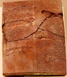 Hittite script from Hattuša