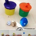 Катапулт от пластмасови чашки