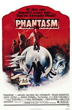 The Phantasm series is intense and surreal. Some will call it nonsense, but I will call it brilliant. My brain is melting.