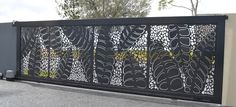 Screenart designs and manufactures beautiful decorative panels and laser cut screens for room divisions ,privacy screens, gates and wallart. Home Gate Design, Steel Gate Design, Main Gate Design, Fence Design, House Design, Front Gates, Front Fence, Entrance Gates, Grill Gate