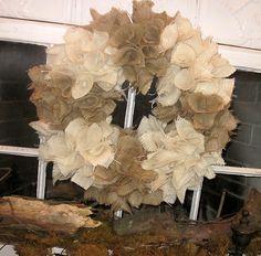 Burlap Wreath!!