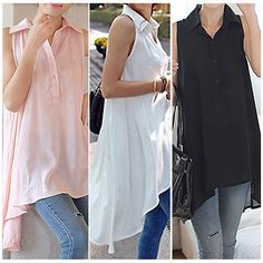M-XXL-Fashion-Womens-Long-Sleeve-V-Neck-Loose-Blouse-Lady-Casual-Long-Top-Shirt