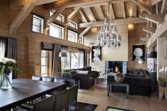chalet megeve..mountain living in style...