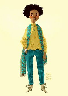 Ana Varela illustration